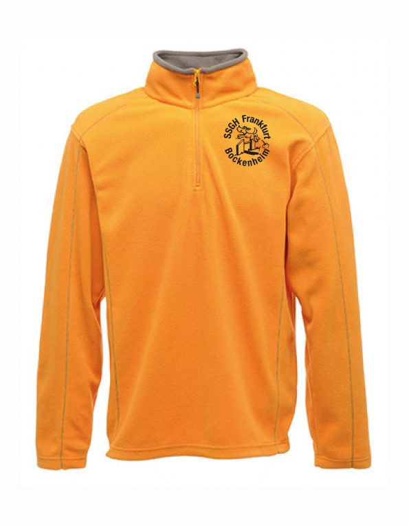 Ashville Half Zip Fleece – Frauen – Sun Orange