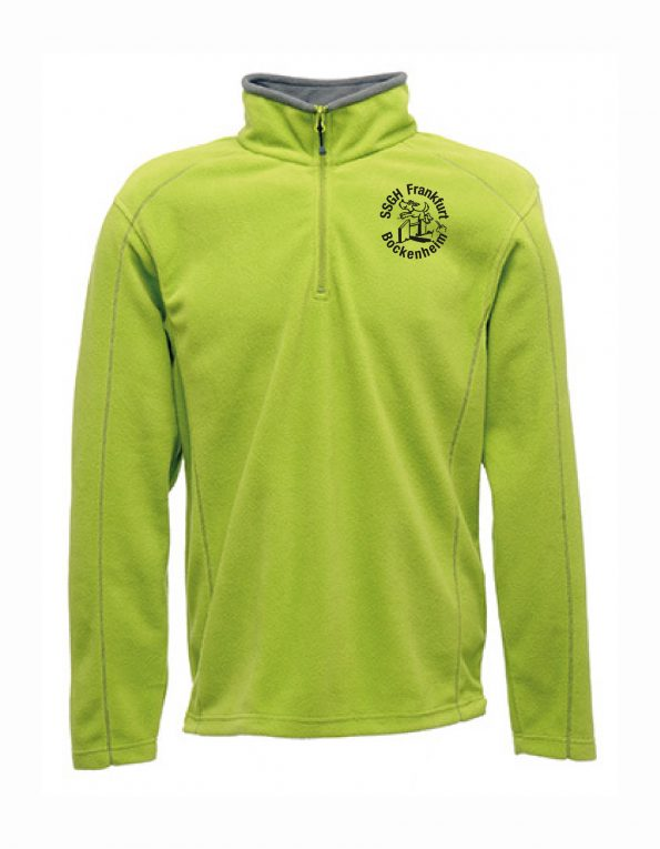 Ashville Half Zip Fleece – Frauen – Keylime